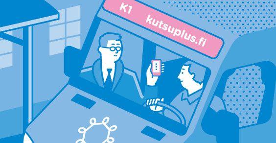 Kutsuplus: um microônibus público