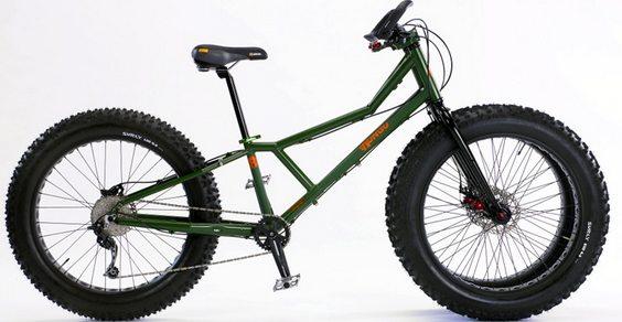 Juggernaut Bike: a bici que anda na neve
