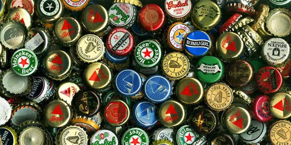 reciclar tampinhas de cerveja