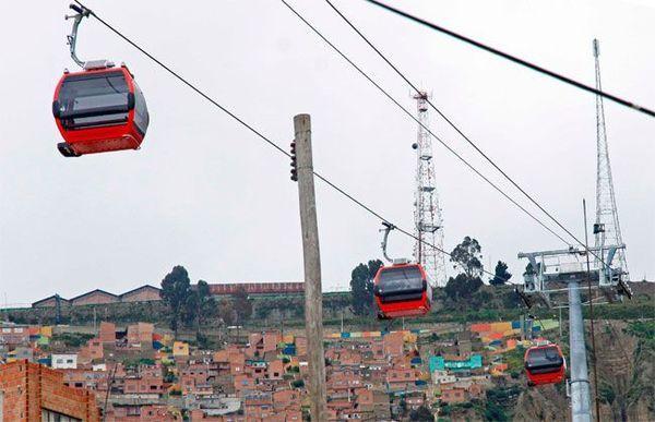 Maior teleférico do mundo será aberto em La Paz