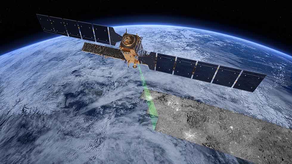 Novo satélite europeu