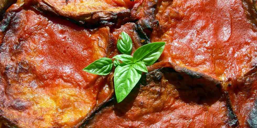 berinjela à parmigiana