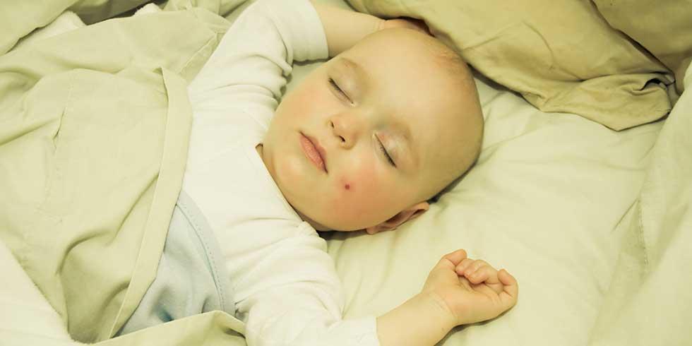 como fazer as crianças dormirem bem