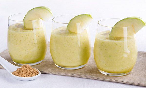 Bevanda ananas limone mela verde zenzero