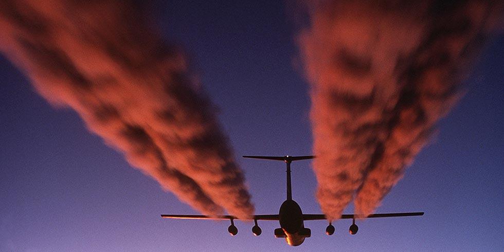 aviões poluem tanto