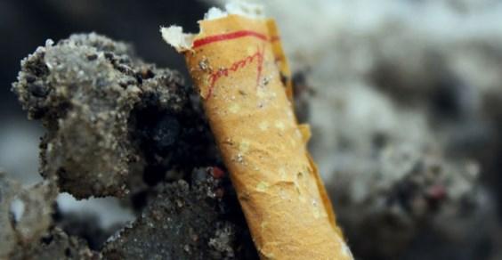 4,5 trilhões de bitucas de cigarros