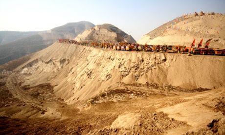 China quer varrer montanhas de seu mapa