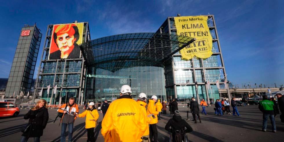 Merkel anuncia doação para fundo de combate ao aquecimento global