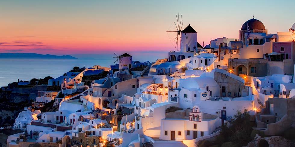 Santorini: ilha grega