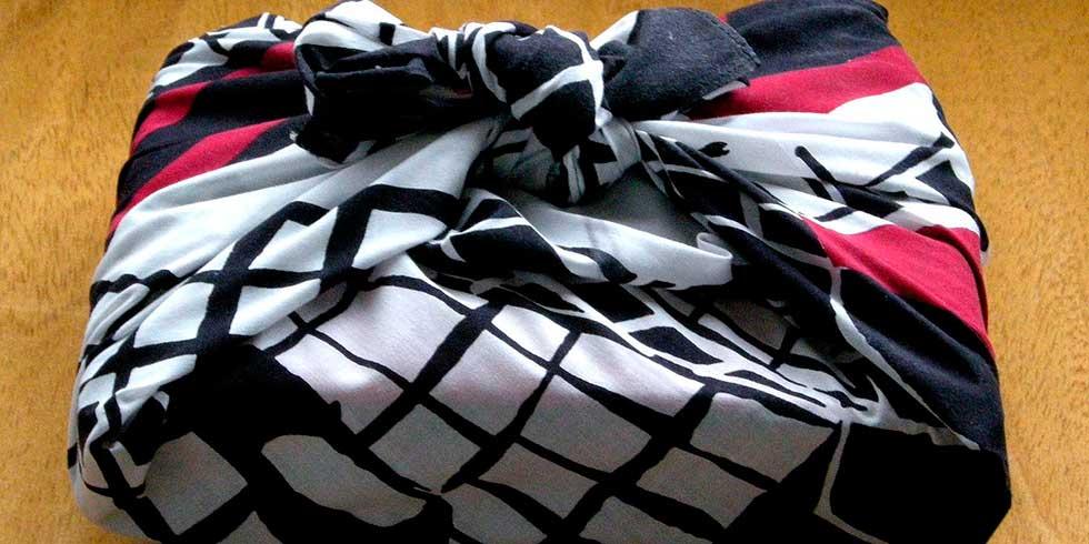 Furoshiki: coisas que você pode fazer com lenços