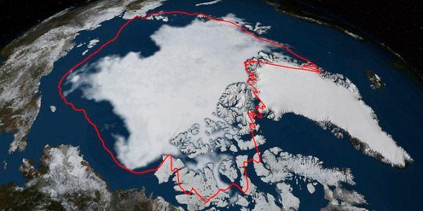Gelo do Ártico