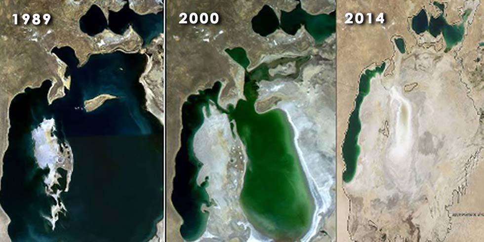 quarto maior lago do mundo desapareceu