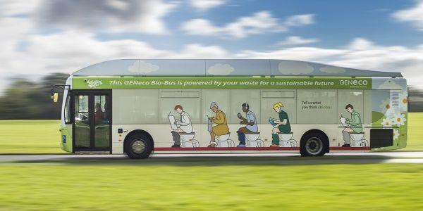 Bio-Bus: na Inglaterra um ônibus movido a lixo e excrementos