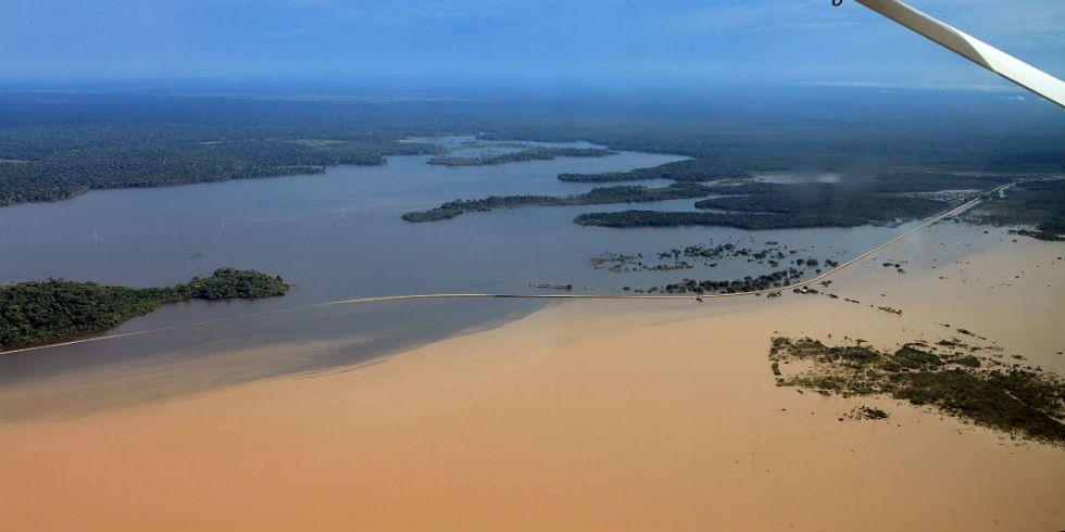 estudo da poluição na Amazônia