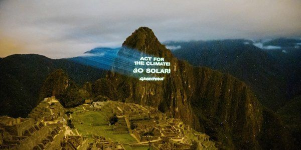 Peru: ativistas do Greenpeace