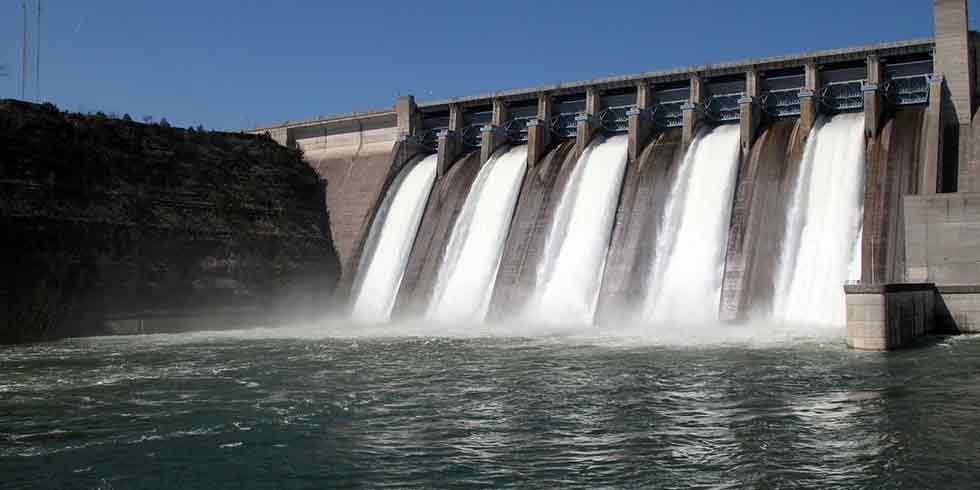 hidrelétricas interrompem produção