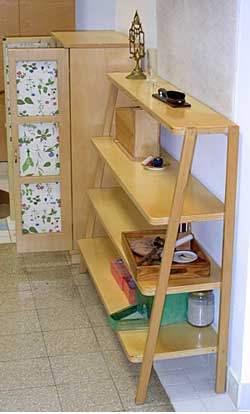 Librería estilo Montessori