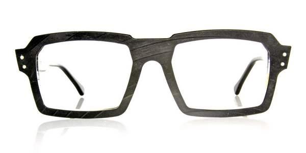 óculos feitos de discos de vinil