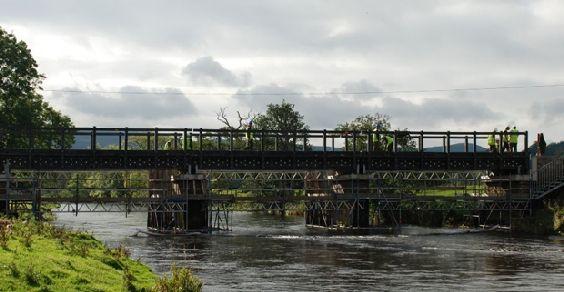 Ponte materiais reciclados Escócia