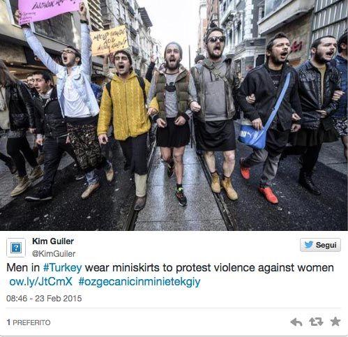 Protesto turco minissaia 2