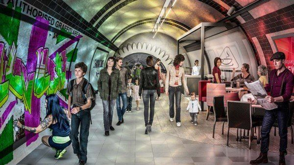 Como seria o projeto London Underlines