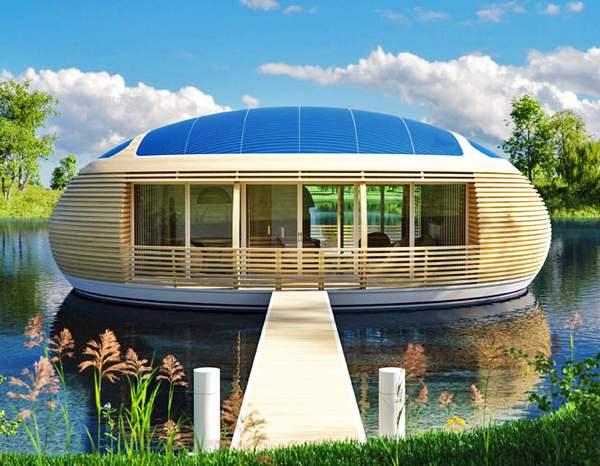 casa reciclável