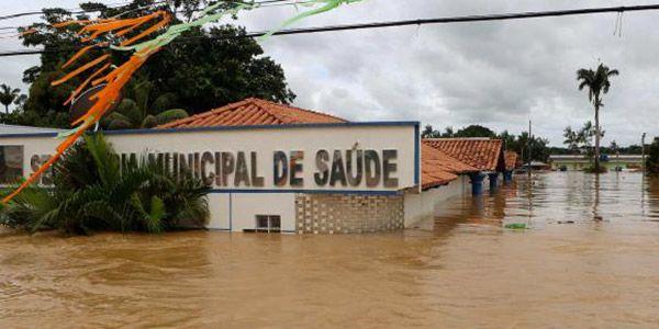 cheia histórica no Rio Acre