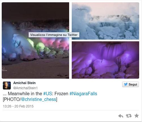 Fotos Cataratas Niágara congeladas 2