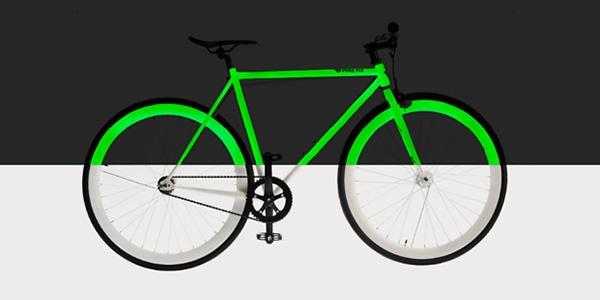 Bike com tinta solar