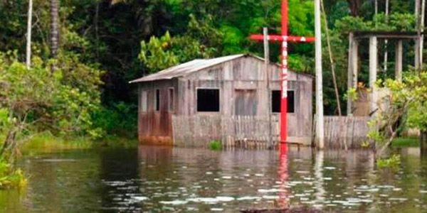 Enchentes no Amazonas