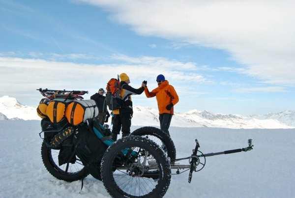 Projeto Pangea viagem ao gelo
