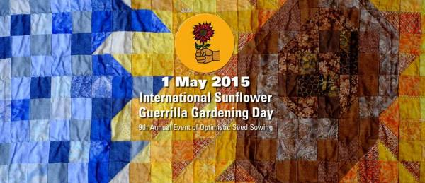Sunflower Guerrilla Day