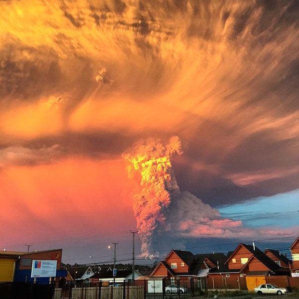 Vulcão Calbuco Chile