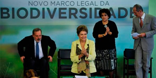 Dilma sanciona Marco da Biodiversidade com vetos