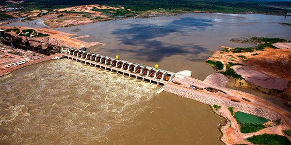Hidrelétricas em Amazonia em estudio