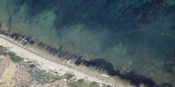 Derramamento de petróleo na Califórnia