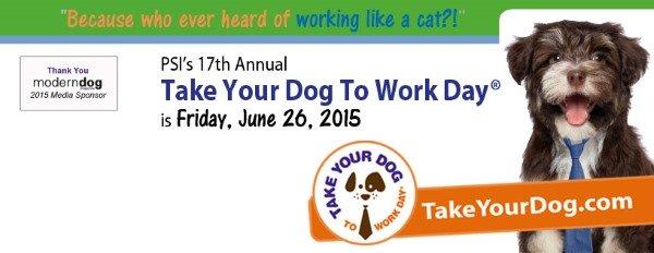 Dia Mundial do Cachorro no Escritório