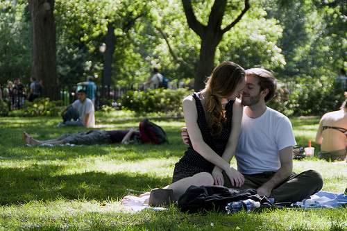 dia dos namorados no parque