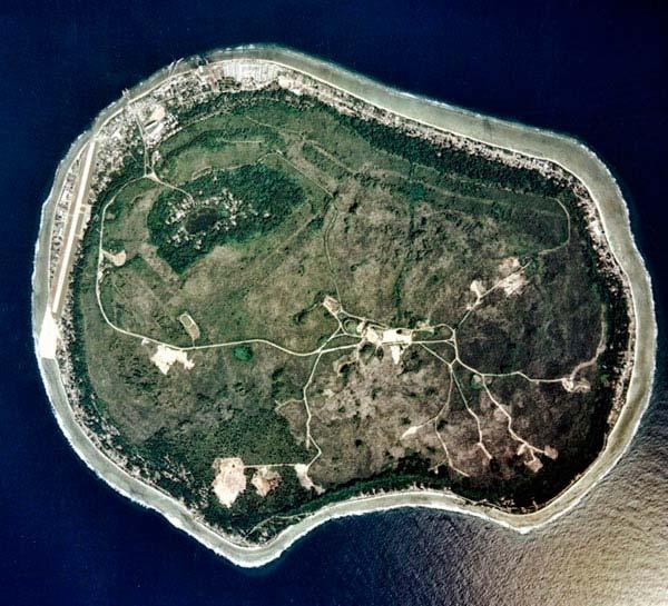 Nauru vista aérea