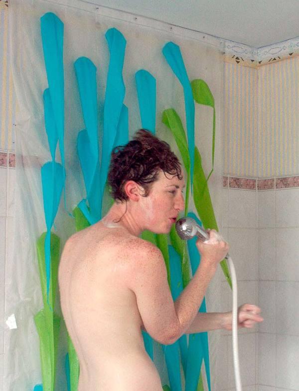 Cantando no chuveiro