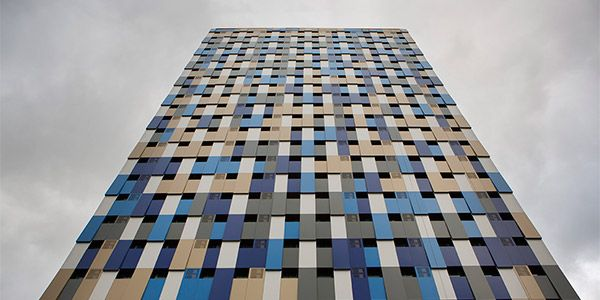 Fachada WZ Hotel São Paulo- dia