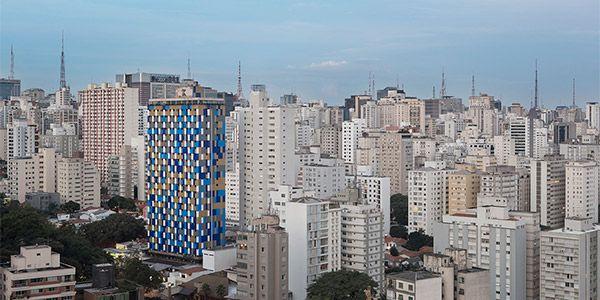 Hotel São Paulo fachada interativa