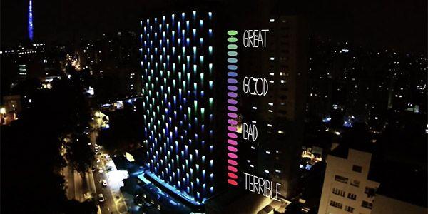 Fachada WZ Hotel qualidade do ar