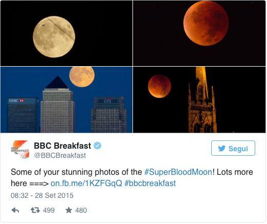 Eclipse da superlua 2015