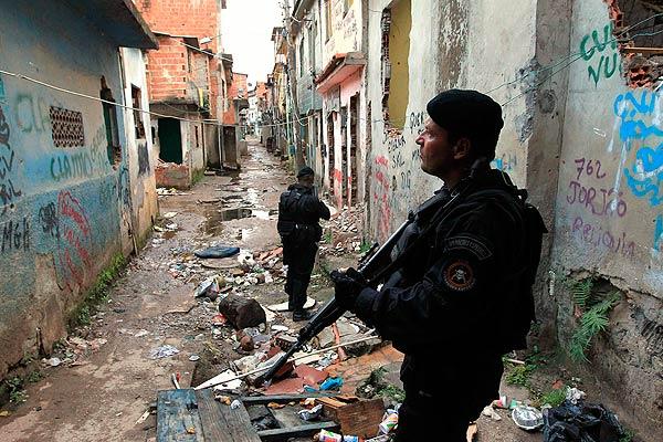 ação policial na favela