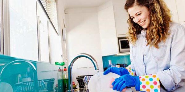lavar louça combate o estresse