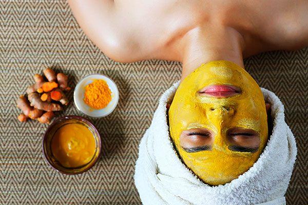 argila amarela na pele