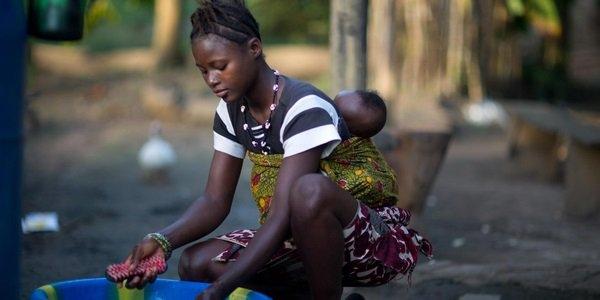 Criança Zimbábue