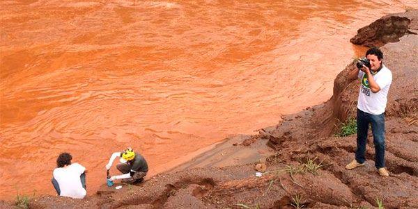Análise água Rio Doce