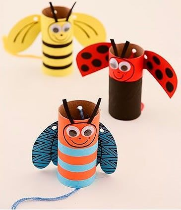 brinquedos de rolo de papelão